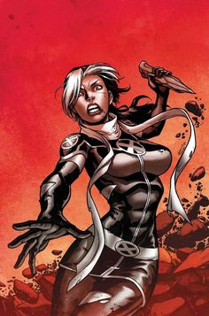 X Men Legacy comic art by Mark Brooks