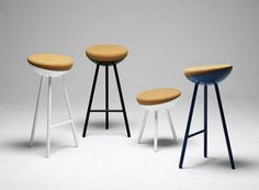 Boet Stools by Note Design Studio » CONTEMPORIST #chair #seat #stools #swedish