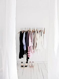 Likes | Tumblr #hanging #white #clothes