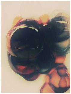 atelier olschinsky #art #abstract #bubbles #digital art #atelier olschinsky