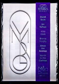 David Rudnick — Symbol #design #poster #typography
