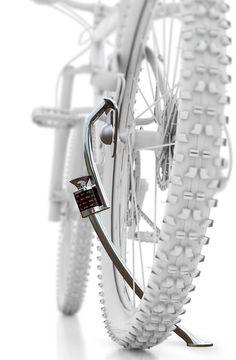 Bike lock-stand
