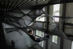 Hand Woven Installation by Numen/For Use