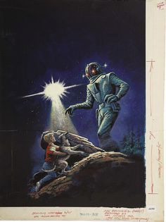 UFO and Outer Space #16, Cover by Art Saaf