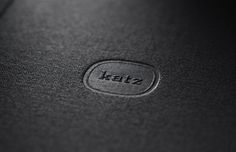 design work life » Tholön: Katz Publishers #logo #katz #book #emboss