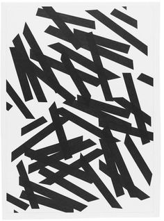 Marc Nagtzaam | PICDIT #black #drawing #art #tapedesign
