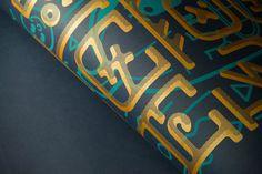 Jack & Type silkscreen poster