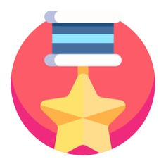 See more icon inspiration related to medal, sports and competition, seo and web, certification, quality, winner, certificate and award on Flaticon.