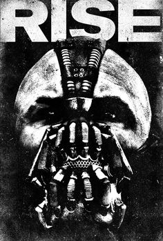 The Dark Knight Rises #bane #rises #batman #poster #dark #knight