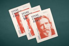 Spare change news #cover #editorial #typography