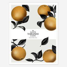 LOVE NARANJAS 1 #illustration #poster #editorial #digital