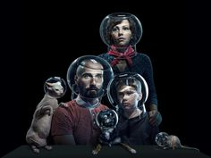 Temptation of Void: Bizarre Family Portraits by Alexei Sovertkov