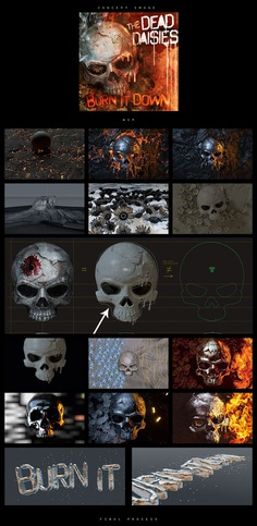The Dead Daisies - Burn it Down on Behance
