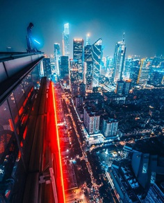 #citykillerz: Vibrant and Cyberpunk Urban Photography by Simon Zhu