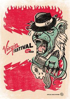 Virgin Festival on Behance
