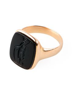 10 Essentials: Philip Crangi #intaglio #ring #gold