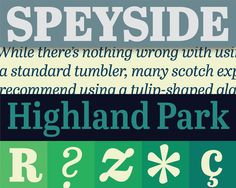 Abril Titling from TypeTogether #speyside #typetogether