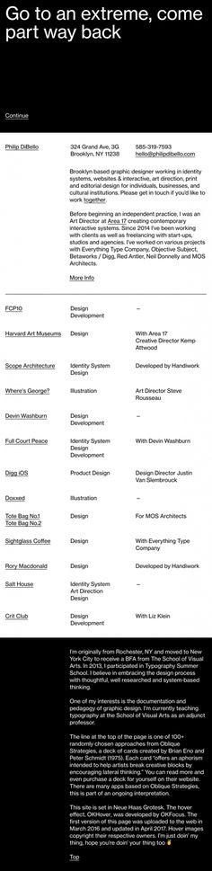Philip DiBello - Mindsparkle Mag - Philip DiBello is a Brooklyn based graphic designer and art director whose cool and interactive website i