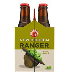 New Belgium Ranger IPA #packaging #beer
