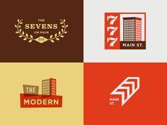 777 Main St. #logo #loft #love #modern