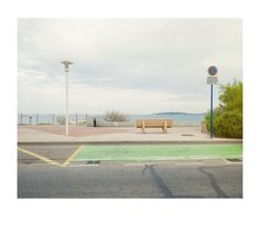 road, bench, view , se, holiday, france, bench, seat, stop, tranquil, landscape