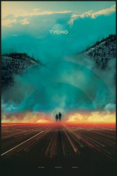 Boulder Poster (Lithograph) #tycho #smoke #design #fire #art #poster