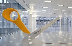 Radford Wallis - Design #design #art #modern #sculpture #scissors