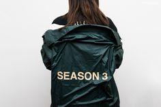 yeezy 3 kanye west season 3 invitation coach jacket olive