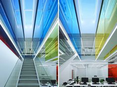 people's architecture office: 21 cake headquarters #color