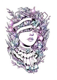 MONAUX ~ Illustration, Typography, Design » Pretty Please