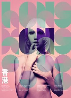 Neue Hong Kong on the Behance Network #tipography #poster