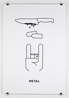 Design You Trust #metal #poster