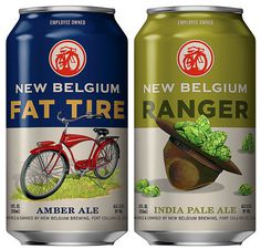 New Belgium Cans #packaging #beer