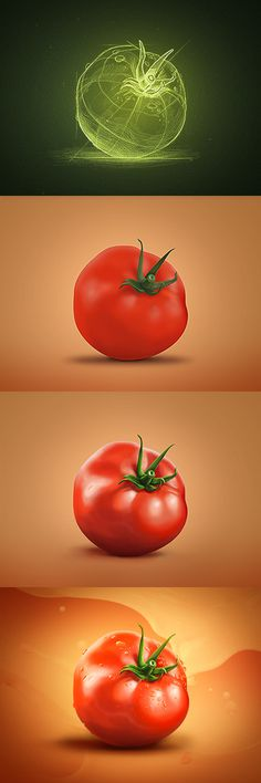 Pommodoro #tomato #creative #mints