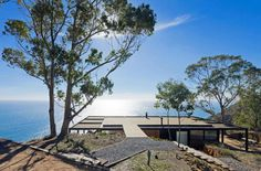 Perfect home perched on a cliff is made of dreams of quiet, food and sex #architecture #house #living