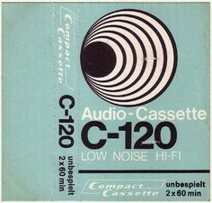 WANKEN - The Blog of Shelby White » Vintage Audio Cassette Inserts