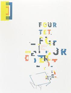 Four Tet / Matthew Dear — Sonnenzimmer #music #poster #sonnenzimmer