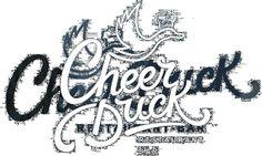 Cheerduck Logo by NickCooper #inspiration #logo #design #lettering