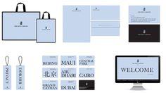 identity, stationery, serif
