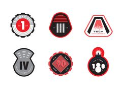 Sneaker Mission Badges 2 #badge #stevens #matt #nike #sneakers #mission
