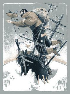 January 19, 1915 Portfolio #man #illustration #ship