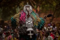 the spirit of the masks #africa #mask