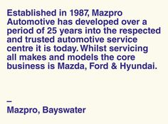 MAZPRO — David Torr #mechanic #identity #garage