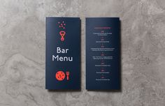 menu, bar menu, restaurant