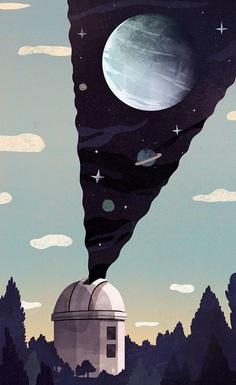 The New Yorker - Aleks Sennwald Illustration