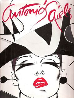 antonio`s girls lopez #fashion #illustration #book