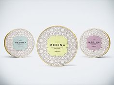 Medina Incense | Packaging of the World: Creative Package Design Archive and Gallery #packaging #patterns
