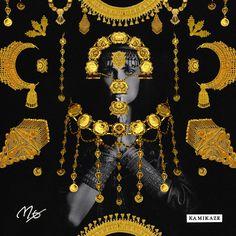 MØ - Kamikaze artwork by Quentin Deronzier #artwork #MØ #music #cover #albumart
