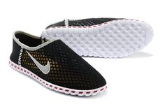 Black Nike Shoes Mens Casual Light Weight Breathable Mesh Cloth 2014