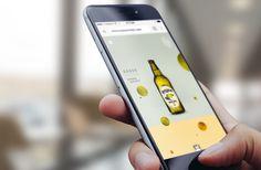 beer, website, design, ux, ui, circles, mobile